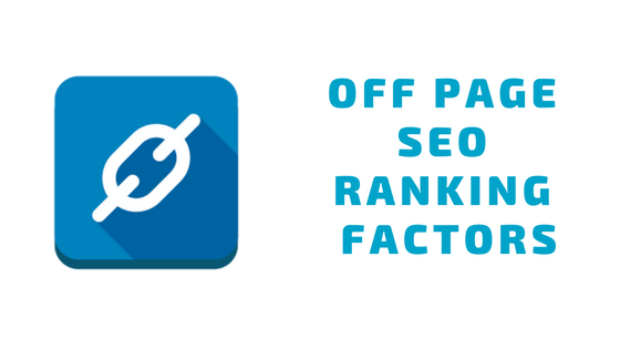 Off Page Ranking Factor